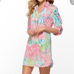 Lilly Pulitzer captiva cover up let's cha cha